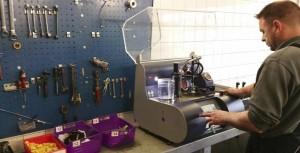 verstuiver / injectoren tester Dieselspecialist Jacobs & Gouw